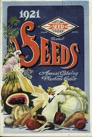 Cover of: Portland Seed Company's complete catalog and seed annual for 1921