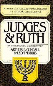 Cover of: Judges and Ruth (Tyndale Old Testament Commentaries)