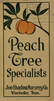 Cover of: Joe Shadow June budded peach trees | Joe Shadow Nursery Co