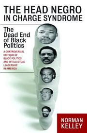 Cover of: The head Negro in charge syndrome