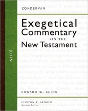 Cover of: John (Zondervan Exegetical Commentary on the New Testament) |