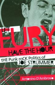 Cover of: Let Fury Have the Hour