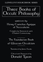 Cover of: Three Books of Occult Philosophy