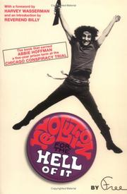 Revolution for the hell of it by Abbie Hoffman