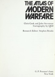 Cover of: The atlas of modern warfare | Cook, Chris