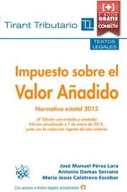 Impuesto sobre el valor añadido, normativa estatal 2015