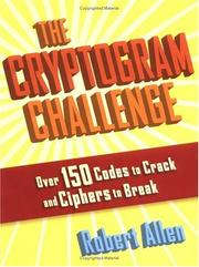 Cover of: The Cryptogram Challenge
