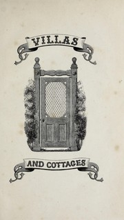 Cover of: Villas and cottages