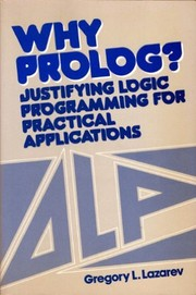 Cover of: Why Prolog? | Gregory L. Lazarev