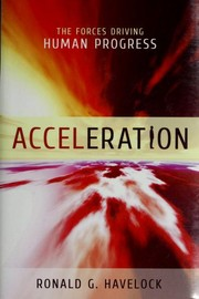 Cover of: Acceleration | Ronald G. Havelock