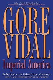 Imperial America by Gore Vidal