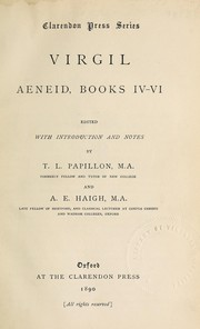 Cover of: Aeneid, books iv-vi