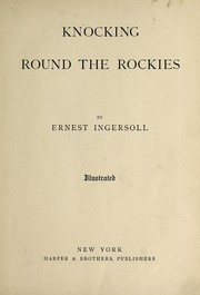 Cover of: Knocking round the Rockies