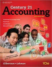 Cover of: Century 21 Accounting: Advanced (Accounting II) (10th edition) |