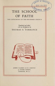 Cover of: The school of faith