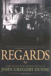 Cover of: Regards | John Gregory Dunne
