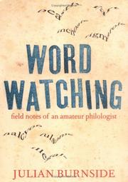 Cover of: Wordwatching
