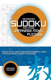 Cover of: Advanced Sudoku | Puzzler Media