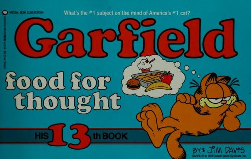 Garfield, food for thought by Jean Little