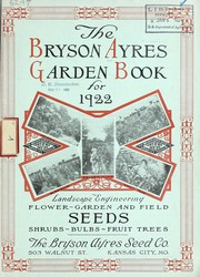 Cover of: The Bryson Ayres garden book for 1922 | Bryson Ayres Seed Co