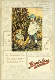 Cover of: Barteldes seeds | Barteldes Seed Co