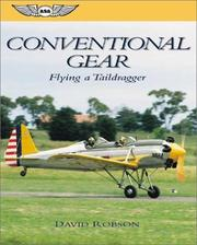 Cover of: Conventional Gear | David Robson