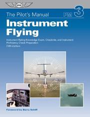 Cover of: Instrument Flying