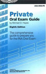 Cover of: Private Oral Exam Guide