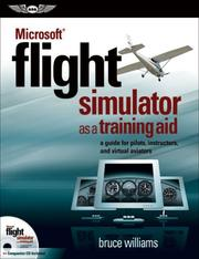 Cover of: Microsoft Flight Simulator as a Training Aid