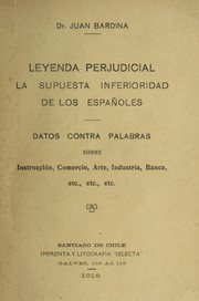 Cover of: Leyenda perjudicial