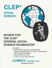 Cover of: Review Book for Clep General Social Science Examination | Eileen Curristine