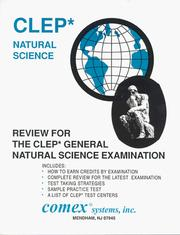 Cover of: Review for Clep General Natural Science Examination