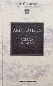 Cover of: Acerca del alma by