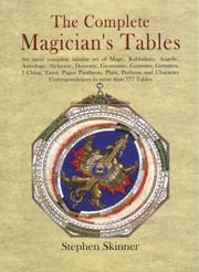 Cover of: The Complete Magician's Tables