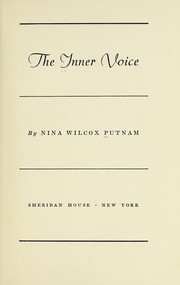 Cover of: The inner voice | Nina Wilcox Putnam