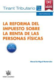 La reforma del impuesto sobre la renta de las personas físicas