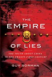 Cover of: The empire of lies