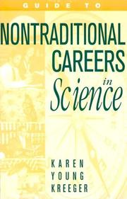 Cover of: Guide to nontraditional careers in science