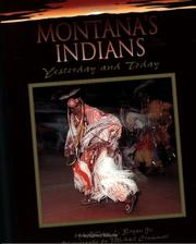 Cover of: Montana's Indians