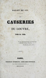 Cover of: Les causeries du Louvre