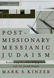 Cover of: Postmissionary Messianic Judaism | Mark S. Kinzer