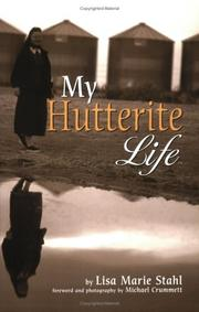 Cover of: My Hutterite Life