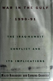 Cover of: War in the Gulf, 1990-91