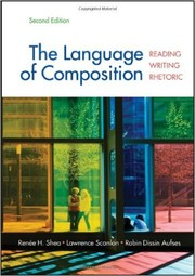 Cover of: The Language of Composition: Reading, Writing, Rhetoric (Second Edition) |