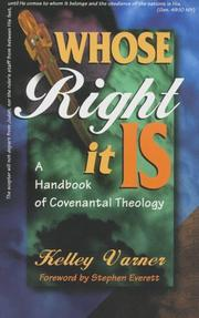 Cover of: Whose right it is