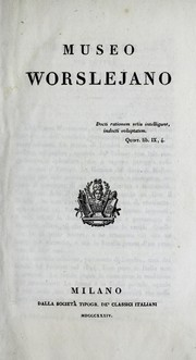 Cover of: Museo Worslejano