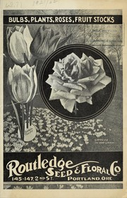 Cover of: Bulbs, plants, roses, fruit stocks | Routledge Seed & Floral Co