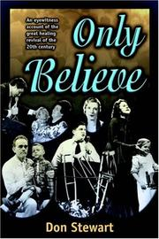 Cover of: Only believe