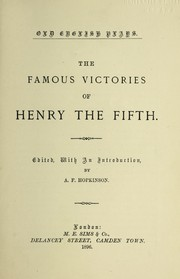 Cover of: The famous victories of Henry the Fifth