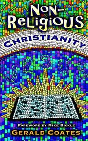 Cover of: Non-religious Christianity